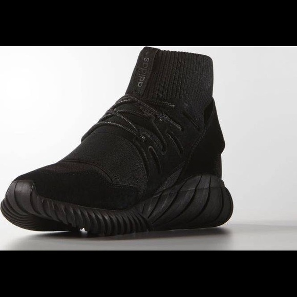 adidas Other - ADIDAS TUBULAR DOOM TRIPLE BLACK , S74794